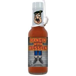 Pack HSH Hangin with Hussein HABANERO Hot Sauce w/ Hangmans Noose
