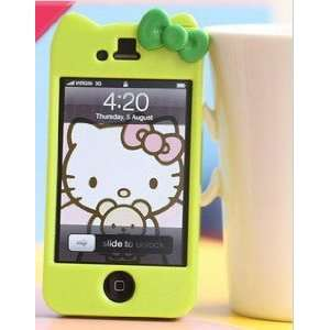 Newest iPhone 4G/4S Hello Kitty Face Hard Case/Cover