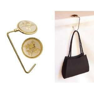 Hot Hang Ups Designer Purse Hangers (Victorian Rose/ Gold