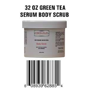 Body Serum to Exfoliate Dead Cells   Contains Dead Sea Mud & Green