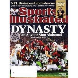 Mark Ingram signed autographed Sports Illustrated Alabama