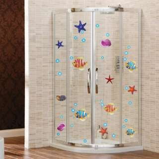 Removable Sea World Bathroom Kitchen Mural Wall Vinyl Sticker Decal