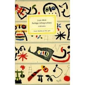 Farbige Lithographien Joan Mir? Books