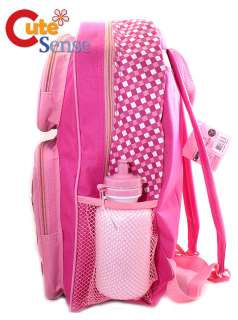 Hello Kitty SCHOOL BACKPACK BAG Sanrio PINK Check  L