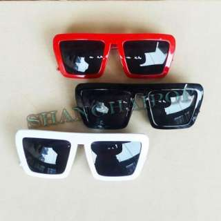 Square Retro Sunglasses Lady Gaga Style Shades Sunnies Wayfarer Fancy