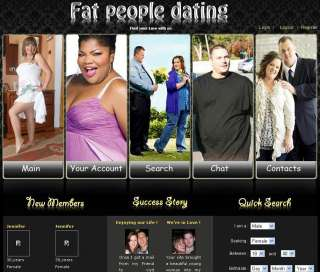Dating for large people