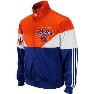 Jam Full Zip Track Jacket   Royal Blue/Orange