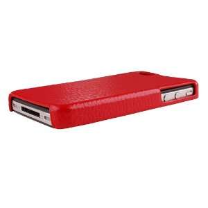 Bundle Monster Apple Iphone 4 Genuine Leather Back Case Cover