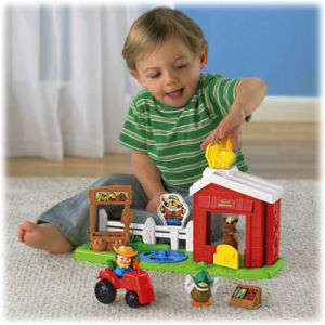 Little People Click n Fun Barnyard New By Fisher Price