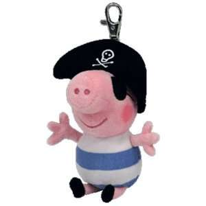 GEORGE the Pig ( Metal Key Clip   UK Excl.   Peppa Pig ) Toys & Games