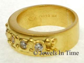 Diamond Ring 18k Yellow Gold Doris Panos 6.25