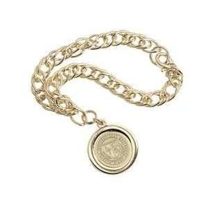 FIU   Charm Bracelet   Gold