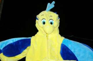 DISNEY COSTUME INFANT BABY FLOUNDER 12 18 MONTHS ARIEL LITTLE MERMAID