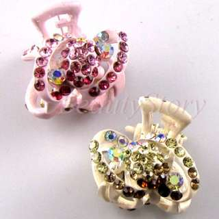 ADDL Item  2pc Austrian rhinestone crystal fashion hair