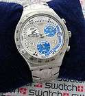 SWATCH WATCH IRONY CHRONO STEREO SCREEN YCS 478G GOOD U