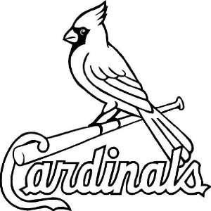 St. Louis Cardinals Vinyl Wall Art Decal