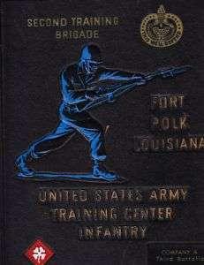 USA FORT POLK, LA BOOT BOOK 3D BATTALION COMPANY A 1967