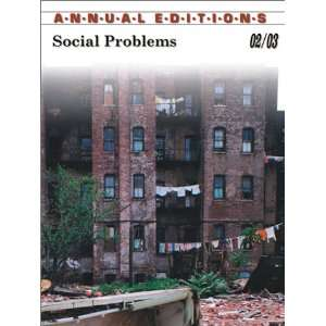 : Social Problems 02/03 (9780072506518): Kurt Finsterbusch: Books