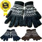 Free Ship★ High Quality New Wool Knit Unisex Winter Gloves Snow