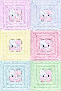 Crochet Pattern For Hello Kitty Baby Blanket : baby blanket with ruffle pattern on PopScreen