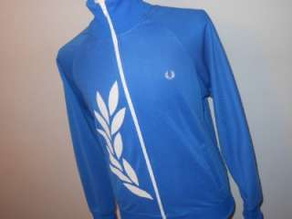 VTG FRED PERRY TRACKSUIT TOP JACKET RETRO MOD INDIE SCOOTER SMALL