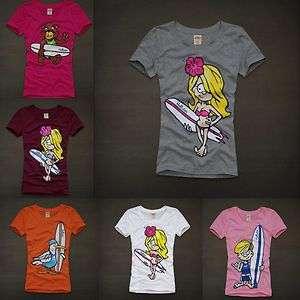 NWT Hollister women Grandview Graphic T shirt Top New