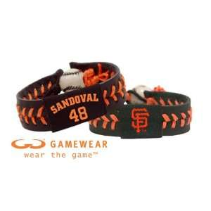 Pablo Sandoval/ San Francisco Giants Team Color Jersey Bracelet and