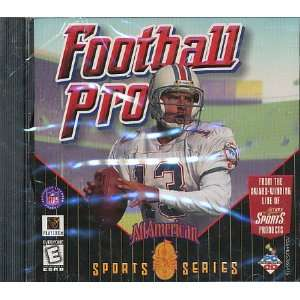 FOOTBALL PRO 98 ALL AMERICAN SERIES Video Games