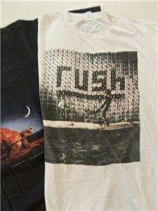 Vintage 1990s RUSH CONCERT T SHIRTS Thin Cotton Tee Shirts LOT 3