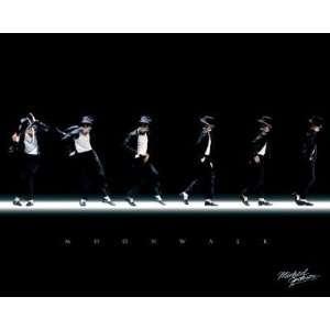 Professionally Framed Michael Jackson   Moonwalk, Music
