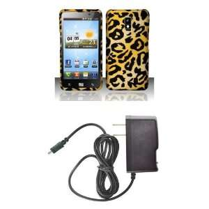 LG Spectrum (Verizon) Premium Combo Pack   Cheetah Jungle Animal Print