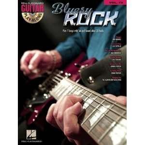 Bluesy Rock   Guitar Play Along Volume 73   Book and CD