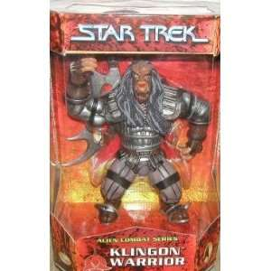 Star Trek Alien Combat Series Klingon Warrior Toys & Games
