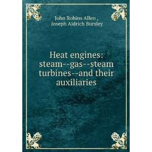 Heat engines: steam  gas  steam turbines  and their