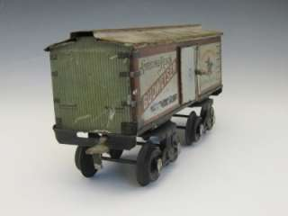 GERMANY BING GAGE 1 LARGE BUDWEISER BEER PROHIBITION REEFER CAR