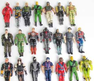 Lot 5 GI JOE Cobra 3.75 Action Figure Figures w/10 pcs weapons