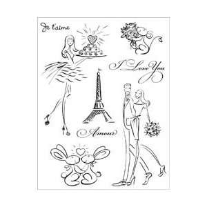 New   Penny Black Clear Stamp 5X7.5 Sheet by Penny Black