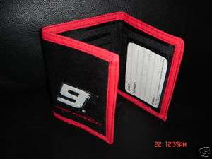 KASEY KAHNE #9 Nascar men wallet tri fold nylon new boy