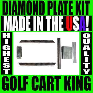 NEW Club Car DS Golf Cart Diamond Plate Accessory Kit