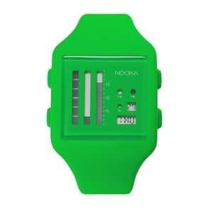 Nooka Zubzen v bright green Comes with Full manufacturers
