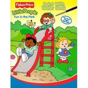 Fisher Price Little People Paint with Water Book   Fun In