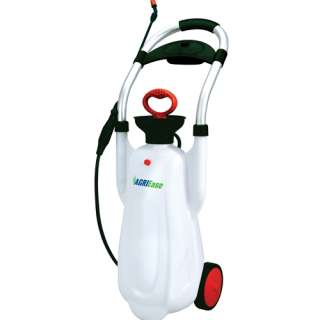 AgriEase 4.25 Gallon 2 Wheel Portable Lawn Sprayer 777897143126