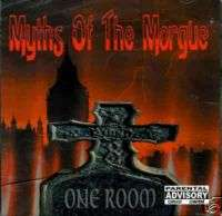 MYTHS OF MORGUE Toledo horrorcore rap OHIO hip hop CD