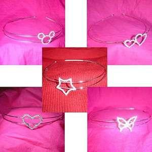 Wholesale 20 rhinestones hair headbands bridal wedding