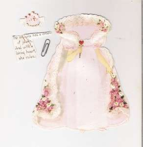 Day Paper Doll Card 1970s ??? Hallmark With Outfits Cute