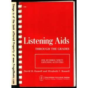 One Hundred Ninety Listening Activities David H. Russell Books