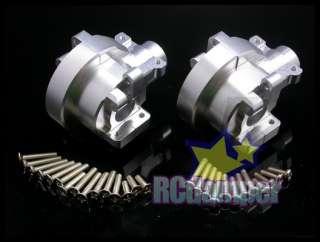 GPM ALUMINUM FRONT+REAR GEAR BOX S HPI NITRO MT2 RS4 3