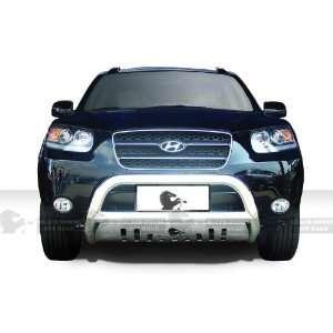 Hyundai Santa Fe 2007 2010 Stainless Steel Blackhorse With