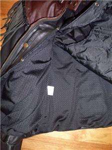 Harley Davidson Leather Jacket ORIGINAL Two Tone Brown Black Willie G