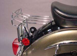 Yamaha V Star 1100 Classic Rear Fender Luggage Rack